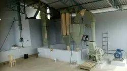 P.O.P powder manufacturing unit
