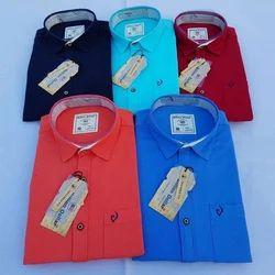 Formal Wear Plain Mens  Shirt