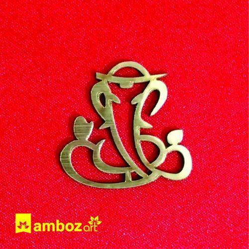 Ganesh Sticker For Wedding Card