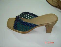 Ladies Leather Casual Slipper