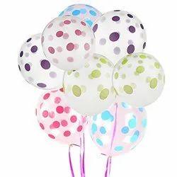 Transparent Polka Dot Balloons