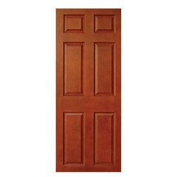 E-Door Finished 6 Panel Moulded Panel Door