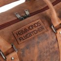Hammonds Flycatcher Genuine Leather Travel Suitcase Luggage