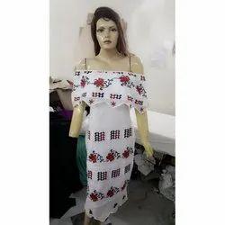 Printed Cotton Ladies Dress