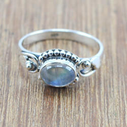 Designer 925 Sterling Silver Jewelry Labradorite Gemstone New Ring Wr-5031