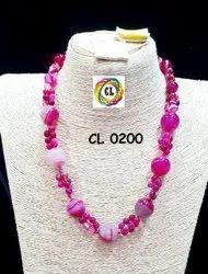 CL Jewellery  Semi Precious Stone Imitation Necklace Set