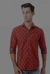 Allen Solly Red Shirt