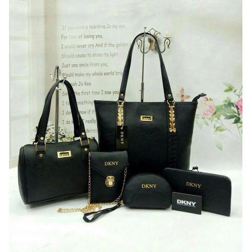 397cc3756b DKNY Black Fancy Ladies Combo Bags