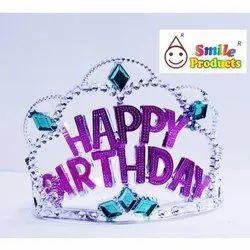 Happy Birthday Plastic Crown