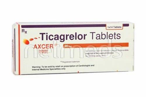 Ticagrelor 90 mg Tablet