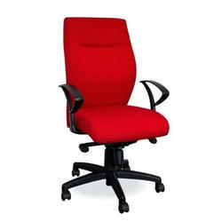 Red Revolving Office Chair