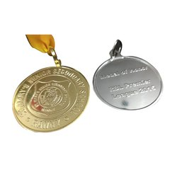 Round Promotional Medal