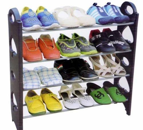 Aluminium Plastic Multicolor Varshine 12 Pair Shoe Rack 3 Rs 180 Piece Id 16452257897
