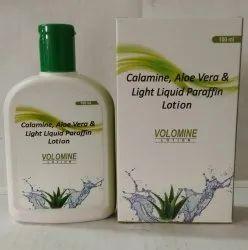 Calamine 8.0 %  Aloe Vera Gel 10.0% Light Liquid Paraffin 10.0%