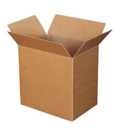 Brown Paper Square Corrugated Inner And Outer Boxes