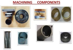 Mild Steel Machining Parts For Industrial, Capacity: 5grams To 3 Kgs