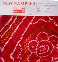 Print Munga With Foil Fabric (sst)