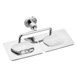 Stainless Steel Double Soap Holders
