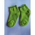 Usha Cotton Green Kids Socks