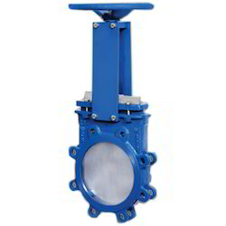 Knife Edge Gate Valve with Manual Operating