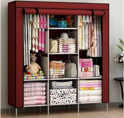 6a52498861b Foldable Wardrobe - Folding Almirah Wholesaler   Wholesale Dealers ...