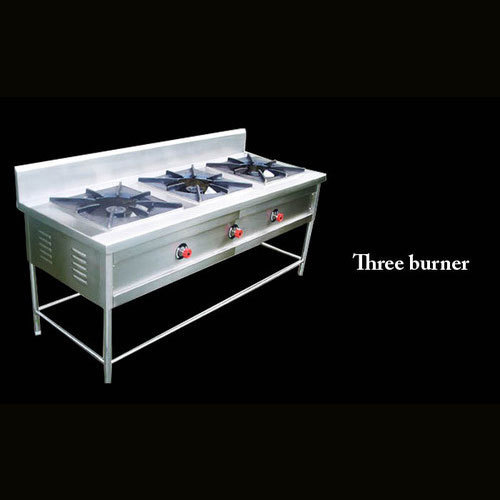 3 Burner Indian Gas Stove