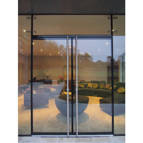 Transparent Tempered Glass Doors Rs 250 Square Feet Rp Glass