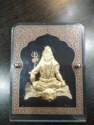 Shiv Gold Leaf Frame 24 kt.