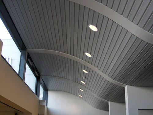 Metal False Ceiling मेटल फॉल्स सीलिंग Roofing And False