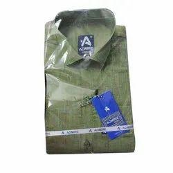 Mens Plain Linen Shirt