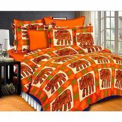 Elephant Design Bedsheet