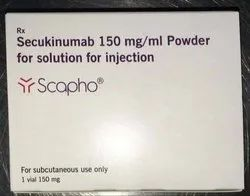 Liquid Secukinumab Scapho Injection, Packaging Size: 1, Prescription