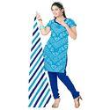 Sky Blue Bandhani Suit