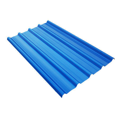 Blue PVC Roofing Sheets