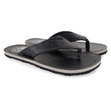 Hoppers Go Mens Tom Grey Slippers, Size: 7-10