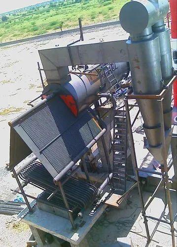 Water Tube Boiler Under Erection