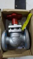 Forbes Marshall Flanged Piston Valve