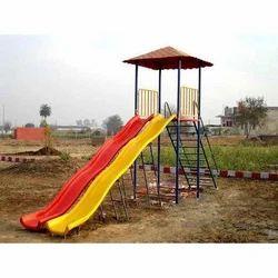 Double Playground Slide