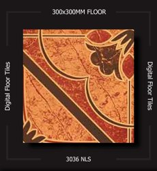 Matt Square Fea Ceramics Largest Floor Tiles Design Collection In India, Size: 30*30, Thickness: 5-10 mm