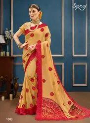 Fancy Designer Party Wear Sarees