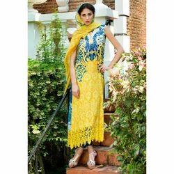 Sleeveless Pakistani Suits, Size: S-XXL