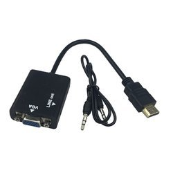 Micro HDMI To VGA Converter With Audio