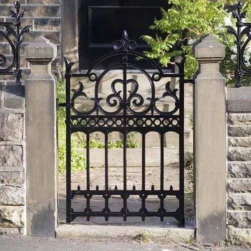 Black Modern Cast Iron Garden Gate, Rs 500 /square feet GP ...