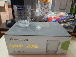 Transparent Glassware, For Home