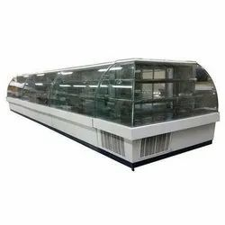 SS And Glass Counter