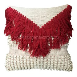 Handmade Vintage Woven Cushion Cover