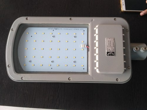 Pure White And Cool White 40 Watt LED Street Light, 85 TO 300 VAC