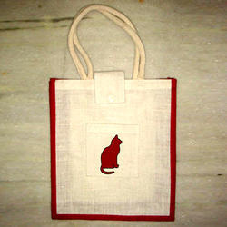 Luxury Handle Jute Bag