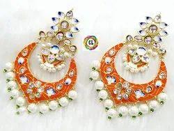 CL Code Bollywood Celebrity Style Enamel Earrings