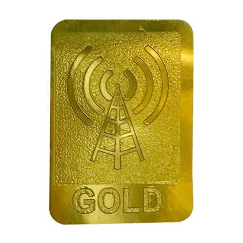 Golden PVC Anti Radiation Gold Patch, Rani Herbals   ID: 20222097073